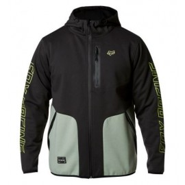 BARRICADE SOFTSHELL FLEECE [BLK VIN]